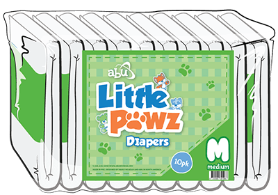ABUniverse Little Pawz Diapers
