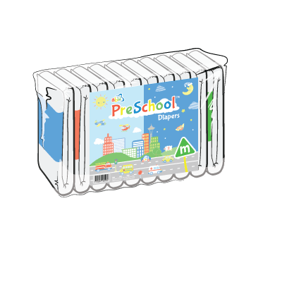 Back Diapers PreSchool