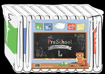 ABUniverse PreSchool Plastic Diapers