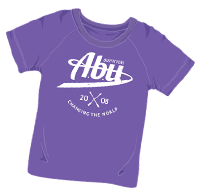 ABUniverse Changing The World T-Shirt Purple