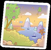 ABUniverse Cushies Island